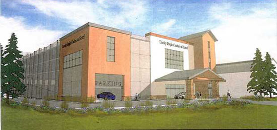 Lucky Eagle Casino Expansion